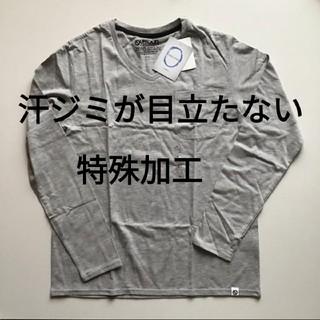 アウトドアプロダクツ(OUTDOOR PRODUCTS)のoutdoor アウトドア 汗じみ目立たない ポケット付きロングスリーブ(Tシャツ/カットソー(七分/長袖))