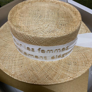 新品未使用  Chapeaud'O シャポードオー カンカン帽
