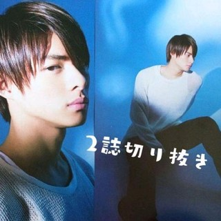 平野紫耀 キンプリ King&Prince SODA デジタルTVガイド ソーダ(アート/エンタメ/ホビー)