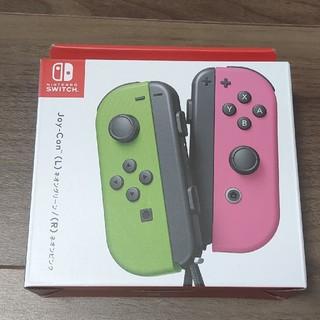 ニンテンドースイッチ(Nintendo Switch)の【未開封新品】Nintendo Switch用 Joy-Con (L) ネオング(その他)
