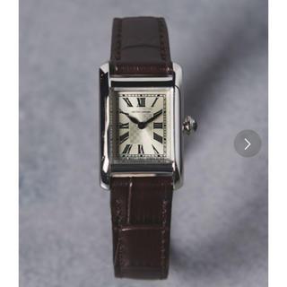 UNITED ARROWS - UNITED ARROWS UBBT スクエア レザーベルト 腕時計①†
