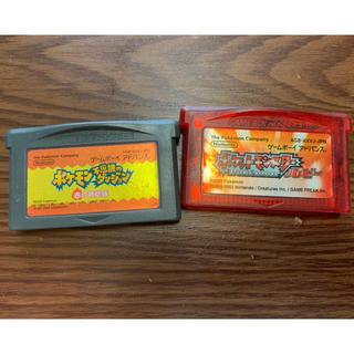 ゲームボーイアドバンス(ゲームボーイアドバンス)のゲームボーイアドバンス ポケモン(携帯用ゲームソフト)