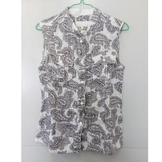 エトロ(ETRO)のエトロ40ノースリーブシャツ(シャツ/ブラウス(半袖/袖なし))