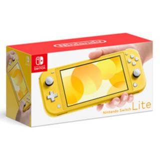 ニンテンドースイッチ(Nintendo Switch)の⭐︎ 新品 未開封 ⭐︎ Nintendo Switch Lite イエロー(携帯用ゲーム機本体)