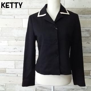 ケティ(ketty)の【人気】KETTY/ケティ バイカラージャケット タグ付き サイズ2 レディース(テーラードジャケット)