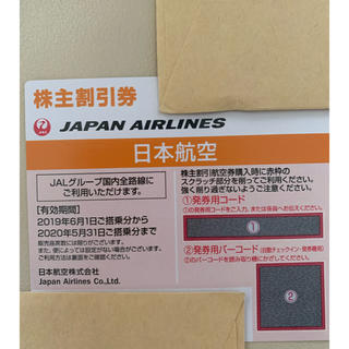 JAL(日本航空) - 即日発送 JAL 株主優待券 1枚