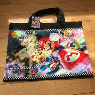 ニンテンドウ(任天堂)のマリオ マリオカート 手提げバッグ(レッスンバッグ)