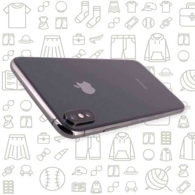 iPhone(アイフォーン)の【A】iPhoneXSMax/64/SIMフリー スマホ/家電/カメラのスマートフォン/携帯電話(スマートフォン本体)の商品写真