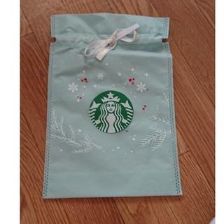 スターバックスコーヒー(Starbucks Coffee)のSTARBUCKS スターバックス 巾着 袋(ショップ袋)