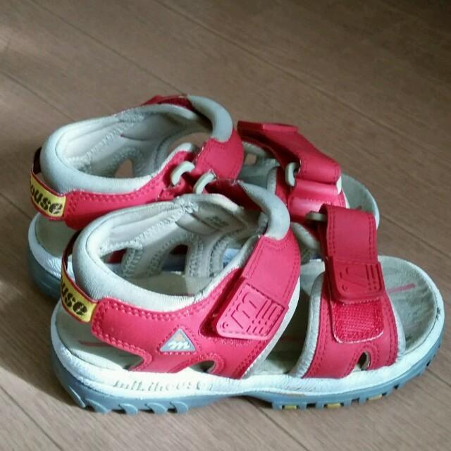 mikihouse(ミキハウス)のミキハウス★男女兼用サンダル👡 キッズ/ベビー/マタニティのキッズ靴/シューズ (15cm~)(サンダル)の商品写真