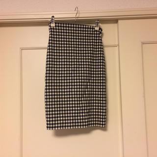 snidel - snidel ギンガムチェックタイトスカート