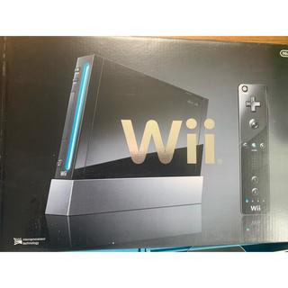 ウィー(Wii)のWii本体など1式(家庭用ゲーム機本体)