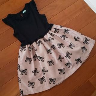 トッカ(TOCCA)の美品 TOCCA ドレス ワンピース 120㎝(ドレス/フォーマル)