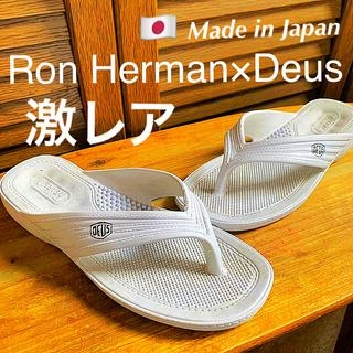 ロンハーマン(Ron Herman)の☆ロンハーマン×デウス【コラボ】日本製Sandals☆超激レア品(サンダル)