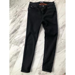トミー(TOMMY)のデニム スキニーパンツ tommy jeans ブラック 冬着用(デニム/ジーンズ)