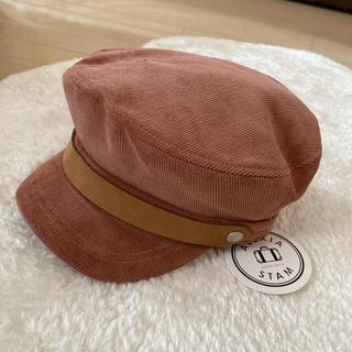 アリシアスタン(ALEXIA STAM)のALEXIASTAM 新品キャスケット帽子 アリシアスタン(キャスケット)