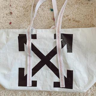 オフホワイト(OFF-WHITE)の新品同様✨正規品✨Off-White New commercialハンドバッグ(トートバッグ)