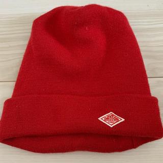 DANTON - ダントン DANTON ニット帽 レッド 赤