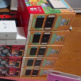 ニンテンドースイッチ(Nintendo Switch)のNintendo Switch どうぶつの森 スイッチ本体同梱【5台セット】(家庭用ゲーム機本体)