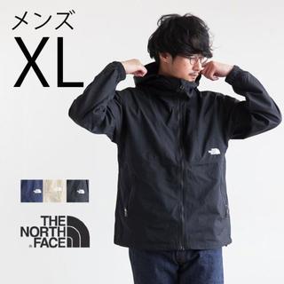 ザノースフェイス(THE NORTH FACE)の定価14300円XL防水雨具 新品ノースフェイス黒マウンテンパーカー ジャケット(マウンテンパーカー)