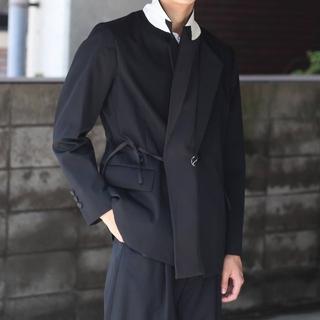 SOSHIOTSUKI 19AW   Double Smoking Jacket