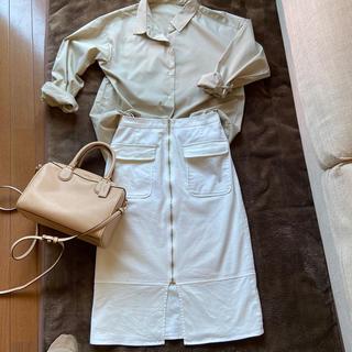 スピックアンドスパン(Spick and Span)のSpick&Span  ホワイトタイトスカート(その他)