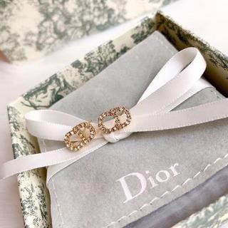 "Dior - Dior""Clair D Lune"" CDロゴピアス"