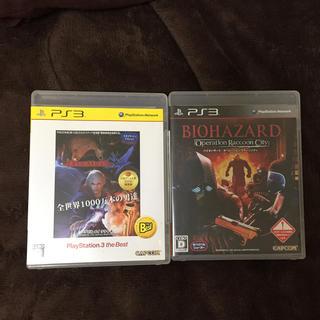プレイステーション3(PlayStation3)のデビルメイクライ4+バイオハザードオペレーションラクーンシティPS3(家庭用ゲームソフト)