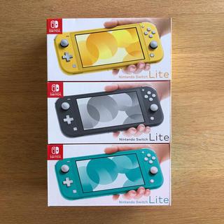 ニンテンドースイッチ(Nintendo Switch)のNintendo switch lite セット(家庭用ゲーム機本体)