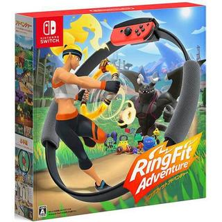 ニンテンドースイッチ(Nintendo Switch)のリングフィット アドベンチャー Nintendo Switch 新品未開封(家庭用ゲームソフト)