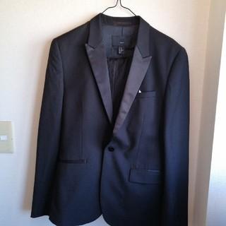 エイチアンドエム(H&M)のH&M スーツ 上下セット 黒 スリムフィット サイズ170(セットアップ)