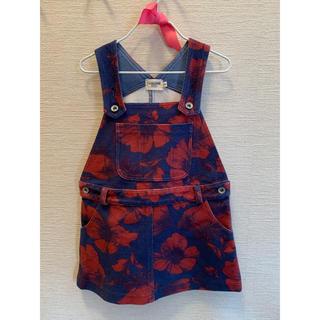 ローズバッド(ROSE BUD)のジャンパースカート サロペット サイズ110(スカート)