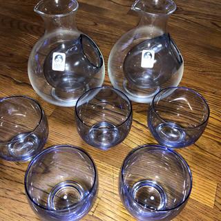 トウヨウササキガラス(東洋佐々木ガラス)の佐々木クリスタル冷酒グラスセット(アルコールグッズ)