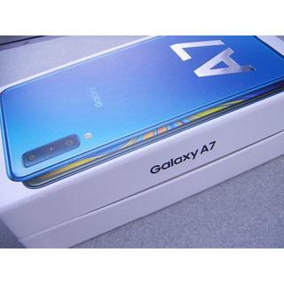 Galaxy A7 楽天モバイル対応 simフリースマートフォン 即日or翌日発