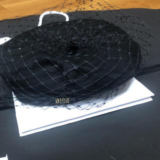 クリスチャンディオール(Christian Dior)のDior 2018 チュールベレー キャスケット ベレー帽(ハンチング/ベレー帽)