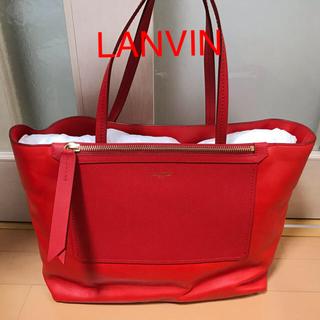 ランバン(LANVIN)の新品 LANVIN Paris バッグ 定価約20万円(トートバッグ)