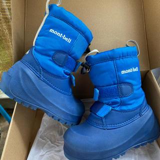 モンベル(mont bell)のモンベル(montbell)雪靴・パウダーブーツ Kid's 17(長靴/レインシューズ)