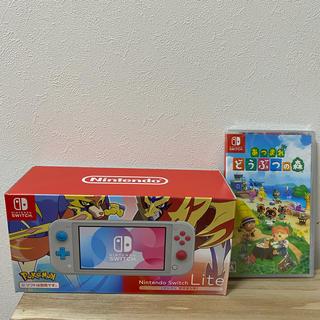 Nintendo Switch - ニンテンドースイッチライト あつまれどうぶつの森
