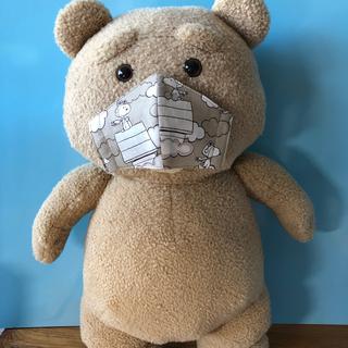 3〜5歳用 スヌーピー密着型インナーマスク 【ハンドメイド】118(外出用品)