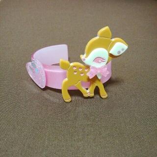 アンジェリックプリティー(Angelic Pretty)のアンジェリックプリティ 小鹿のミルキーちゃんバングル 新品(ブレスレット/バングル)