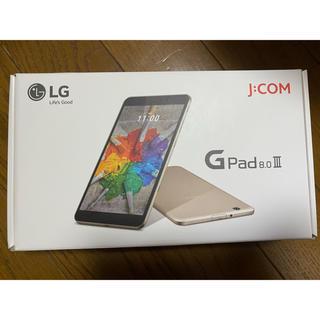 エルジーエレクトロニクス(LG Electronics)のJ:COM ジェイコム LG GPad LGT02 タブレット(タブレット)