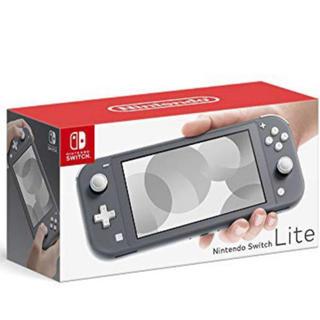 Nintendo Switch - 送料無料 任天堂 本体 switch lite スイッチ ライト グレイ