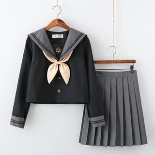コスプレ セーラー服 セット! Lサイズ(衣装一式)