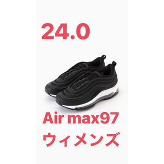 NIKE - ナイキ エアマックス97 air max ブラック 24.0 レディース