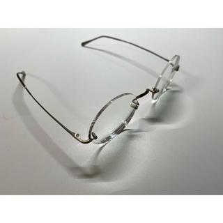 アランミクリ(alanmikli)のゲルノットリンドナー 401 シルバー サテン仕上げ ゲルノット・リンドナー(サングラス/メガネ)