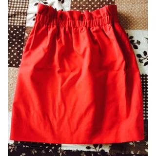 リリーブラウン(Lily Brown)の赤のタイトスカート(その他)