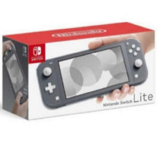 Nintendo Switch - 明日発送 Nintendo switch lite グレー