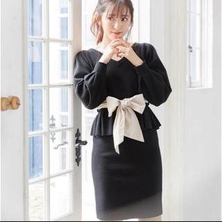 MIIA - MIIA ニットタイトスカート