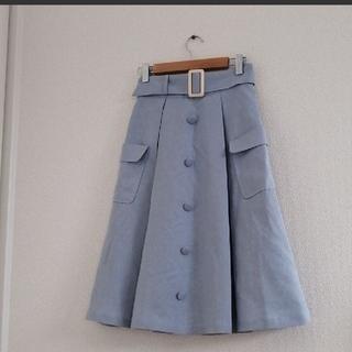 F i.n.t - F.I.N.T ベルトつきスカート