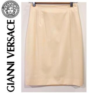 ジャンニヴェルサーチ(Gianni Versace)のGIANNI VERSACEスカート【美品】(ひざ丈スカート)